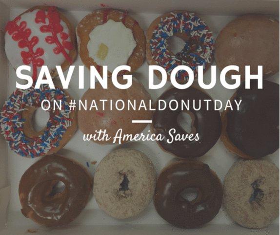 Celebrate #NationalDonutDay by saving some dough!   More #savings tips >> https://t.co/IBarPIMtOa https://t.co/OLd7k4rGcI