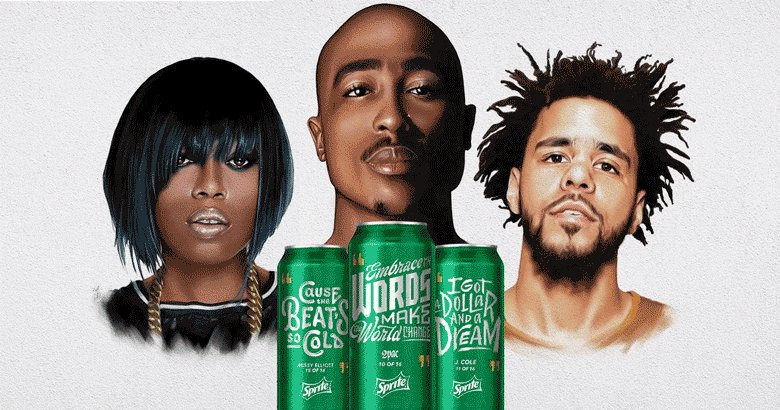 Introducing the Sprite Lyrical Collection. 16 limited lyrics feat. @2Pac @MissyElliott & @JColeNC. #ObeyYourVerse https://t.co/h6cH8dyDk3