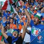 GOAL! Italy 1-0 Spain (Chiellini 33) #EURO2016 #ITAESP https://t.co/aCDC5zaHRR