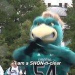 .@UofA We appreciate you asking! It is pronounced SHON-ti-clear.   #CCUinOMAHA #CWS #CWSFinals https://t.co/n3aIYoU6dV
