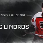 Congratulations to Eric Lindros, @HockeyHallFame inductee! https://t.co/GjOZ839tL6