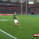 This was the most controversial decision of the game, should Le Roux have seen red? #rugbyunited  RT - Yes Fav -No https://t.co/XYqnP3r7qI