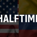 Committed half from both teams. #USMNT with several good chances. Exciting second half to come. #USAvCOL https://t.co/hHLtvVIznl