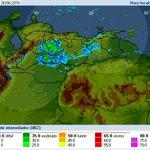 Lluvias moderadas en Cojedes/Portuguesa/E Barinas. Aisladas Guárico, Nororiente, áreas de montañas en Táchira/Mérida https://t.co/pQ4iRazKCG