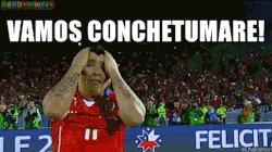 ‼️‼️Grande @MedelPitbull por la CSM‼️‼️ ⚽️ #VamosChileCarajo #ArgentinaVsChile #CopaAmerica #LaCopaEstaEnEl13