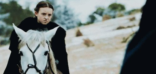 Lyanna Mormont's stinkface alone could rule the seven kingdoms. https://t.co/YozOVfM2iy