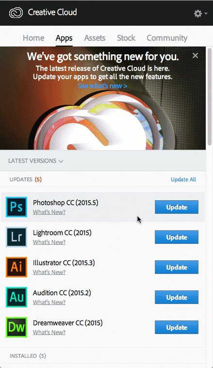 How to keep older versions of your Adobe CC Apps installed. https://t.co/MSkMZpLPXG