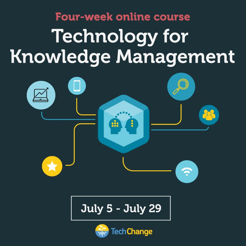 We still have open spots in our #Technology for #KnowledgeManagement course! Sign up today: https://t.co/yTdipiucT8 https://t.co/E94Nm6J2Ea
