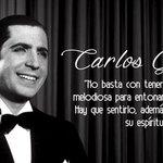#UnDíaComoHoy de 1935 murió la leyenda del tango, Carlos Gardel. https://t.co/9PbwjQyVR1