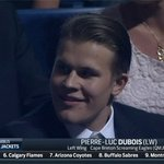 Jesse Puljujärvis reaction to Pierre-Luc Dubois being picked ahead of him https://t.co/bHHXT0EmoA