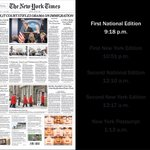 After the Brexit results, the front page of The New York Times quickly started to change https://t.co/WGPdp9In4M https://t.co/DjcjNY8lpS