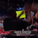 Welcome @TBBuccaneers QB @Jaboowins to ringside at @WWE #RAW! @NFL #HeismanTrophy https://t.co/cvgzujiuN5