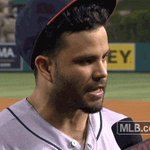 Just because youre doing an interview doesnt mean youre safe from hat stealers, @JoseAltuve27. https://t.co/7pMOHcvqph