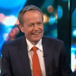 Opposition Leader @billshortenmp joins us at #TheProjectTV desk #ausvotes https://t.co/J1c0xezsMk