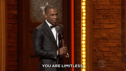 Friendly reminder from @leslieodomjr #limitless https://t.co/dRcOLiJWC4