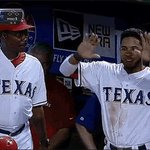 The Rangers - Yankees game is starting RIGHT NOW on FSSW! #Game80 #NeverEverQuit https://t.co/h5Ix7fp94i