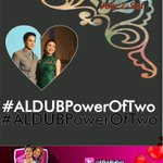 A Load is lighter if two people carry it ❤ @mainedcm @aldenrichards02 new HT happy SAT. #ALDUBPowerOfTwo ???? https://t.co/5wZ6FG8PiO