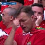 Wales 1-1 Belgium The tension is unbearable #EURO2016 #WALBEL Follow LIVE: https://t.co/Yp8HWQW9Vh https://t.co/8ulGdUrFEP