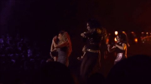 Who else is loving @FifthHarmony's performance of All In My Head (Flex)? ✌️