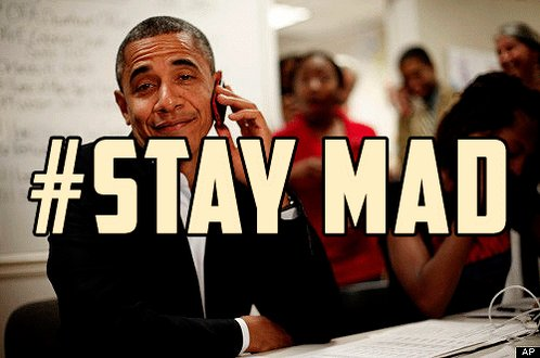Are ya'll mad? Well PBO has a message for ya and it goes a little something like this............. #ImWithHer https://t.co/AFVpU2FN0a