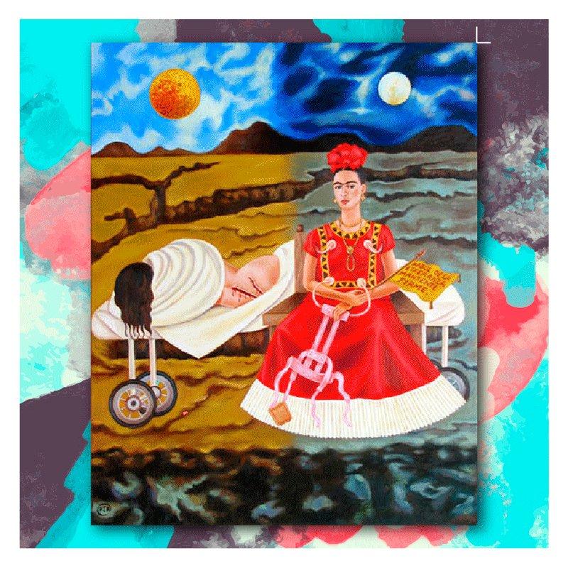 Hoy conmemoramos el natalicio de la pintora mexicana #FridaKahlo, ¿cuál de sus obras es tu favorita? https://t.co/WgK2BTZ4l2
