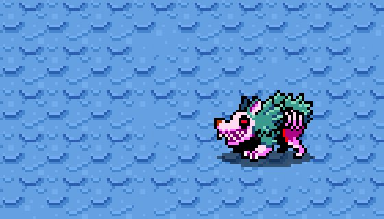 Finished up the zombeast claw attack animation for @MonsterMonocles :) #pixelart #gamedev https://t.co/S2N2yvKNw2