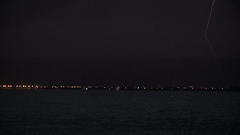 Lots of lightning tonight in Tampa Bay. #WTSP   video: @KOD1AK https://t.co/tGudeXXOwZ