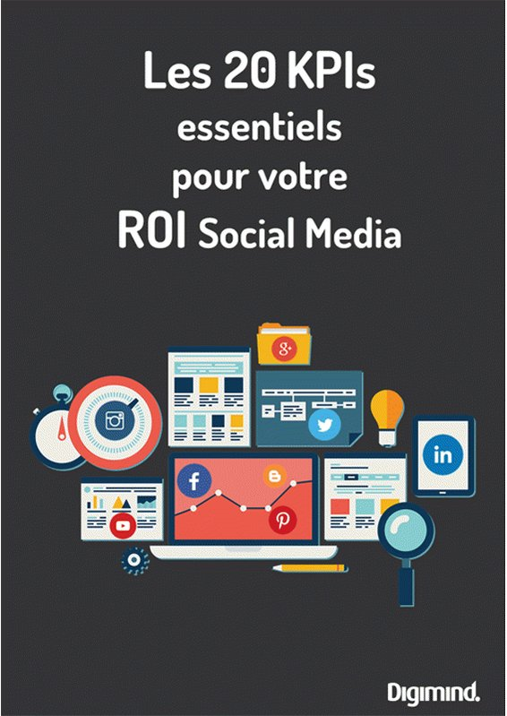 NEW ! [Livre blanc] 20 KPIs essentiels pour votre ROI Social Media #marketing https://t.co/j8aMPitwv0 https://t.co/9WFwVNsNUW