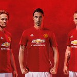 Zlatan, Rooney & Blind in the new Home Kit #mufc #FirstNeverFollows https://t.co/MPZwXEhQjq