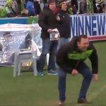 Ricky Stuart jumping for joy.  #NRLRaidersWarriors #NRL #HistoryHappens https://t.co/vIW0I073gq