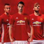United never follows. The 2016/17 @ManUtd home kit. Available now: https://t.co/jpLtbVNOSt #FirstNeverFollows https://t.co/vWiIzpdpwt