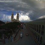 La nube en este momento encima de San Francisco de #Campeche tiene historia y es esta. Vía @SECTURCampeche. GIF: https://t.co/jyltjMGhCu