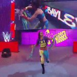 One of the hardest working women Ive ever seen. Bayley has arrived. #WWEBattleground https://t.co/d8GlwqIpE1