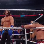 WHAT A RIGHT HAND! Sometimes, The Phenomenal @AJStylesOrg just needs to keep the offense simple... #WWEBattleground https://t.co/ard7udD9xi