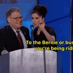 """Sarah Silvermans message to """"Bernie or Bust"""" people... #DemsInPhilly https://t.co/z4xE5A5CsR"""