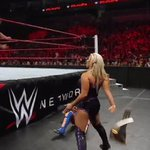A little lyin, cheatin, and stealin leads to @DanaBrookeWWE getting EJECTED from ringside! #RAW #WomensTitle https://t.co/lED7WuYCo2
