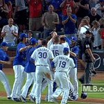 WALK IT OFF!!! #BELTREBLAST #LETSGORANGERS! https://t.co/f583Lb47oZ
