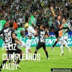 """🎂🎉 #FelizCumpleaños a Jhon """"Minuto 92"""" Valoy.  6 títulos con Nacional. Autor de un gol inolvidable. Cumple 25 años https://t.co/9OtDoykrJ2"""