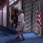 Now thats how you exit a stage #DemsInPhilly https://t.co/gphLQyLU50