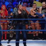 """""""This is what I LOVE about Dean Ambrose ... He will fight ANYONE, ANY TIME!"""" - @WWEDanielBryan #SDLive https://t.co/X8LVz29zAQ"""