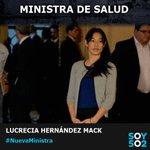 Jimmy Morales anuncia a la doctora Lucrecia Hernández Mack como la nueva Ministra de Salud. https://t.co/TEyNOfCAZn