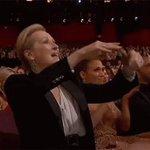 Meryl Streep reacting to Meryl Streep speaking at #DemsInPhilly https://t.co/GI1CNkcnvo