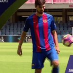 🔝 ⚽️ 👍  @aftgomes   #AndréGomesFCB  🔵🔴 Força Barça! https://t.co/1kdlHXfpwK