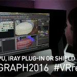Win a free Iray plug-in! Show us how you are #SIGGRAPH2016 #VRready for your chance to win. https://t.co/2xjqTRs0nG