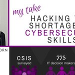 My Take on @CSIS #cybersecurity workforce study https://t.co/rqa5zm0Vzt #womenintech @IntelSecurity #WednesdayWisdom https://t.co/a1469NH6oC