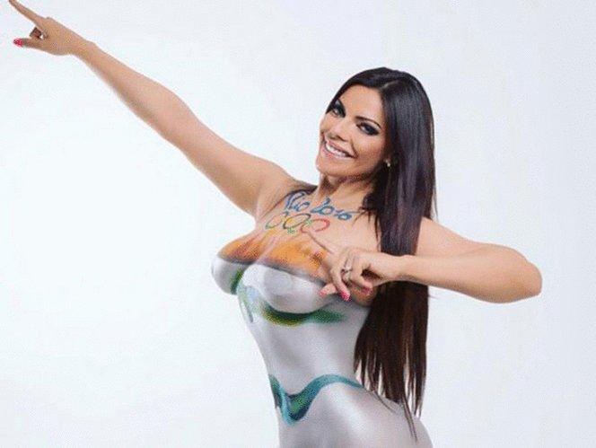 RT @Excelsior: Miss Bum Bum es oro olímpico en desnudo  #JuegosOlimpicos #Rio2016 https://t.co/RXZym2YOg1 https://t.co/pBODcfmOHw