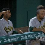 Another day, another series win 🙌 FINAL: #Athletics 6, Rangers 4. #GreenCollar https://t.co/Ix6s1BPJPC