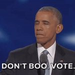 Dont boo. Vote. #DemsInPhilly https://t.co/zSY8UGovRy