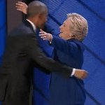 The third night of the #DemConvention ends with a @POTUS and @HillaryClinton hug https://t.co/cTM7ACBFDz https://t.co/oRzTJtX0Xq