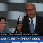 """Father of Muslim soldier: """"Donald Trump, have you read the American Constitution? I will gladly lend you my copy."""" https://t.co/Z5kPMls2uH"""